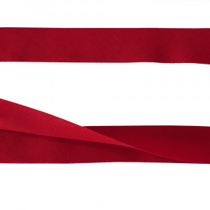 """30mm (1-3/8"""") V Fold 100% Cotton Quilt Binding Red"""