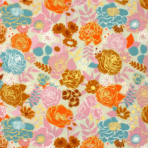 Ruby Star Society Rise Grow (Small Floral) Shell by Moda Fabrics