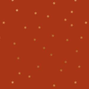 Ruby Star Society Spark Metallic Cayenne by Moda Fabrics