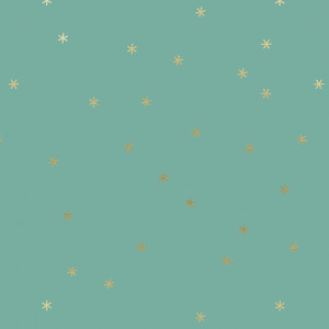 Ruby Star Society Spark Metallic Ocean Blue by Moda Fabrics