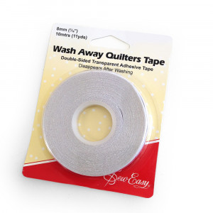 Sew Easy Quilters Wash Away Tape 8mm (10m roll)