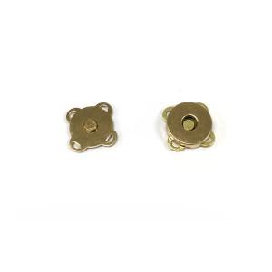 "Voodoo Bag Hardware Sew-in Blossom Magnet 14mm (5/8"") Gold"