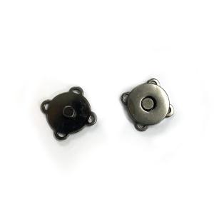 "Voodoo Bag Hardware Sew-in Blossom Magnet 18mm (3/4"") Gunmetal"