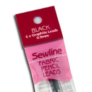 Sewline Fabric Pencil Graphite Leads Black