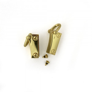 Side Edge Strap Anchor Set Gold (2pk)