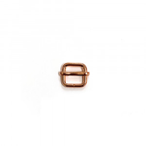 "Voodoo Bag Hardware Slide Adjusters 12mm (1/2"") Copper 2pk"