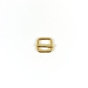 """Voodoo Bag Hardware Slide Adjusters 12mm (1/2"""") Gold 2pk"""