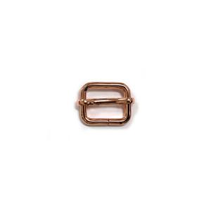 """Voodoo Bag Hardware Slide Adjusters 20mm (3/4"""") Copper 2pk"""