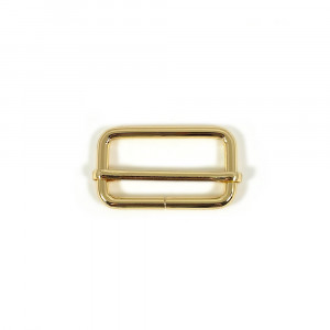 "Voodoo Bag Hardware Slide Adjusters 40mm (1-1/2"") Gold 2pk"