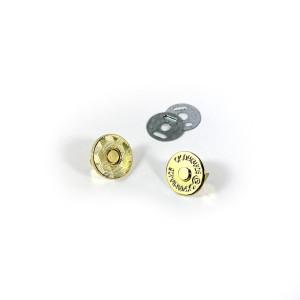 "Voodoo Bag Hardware Magnetic Catch Slim 14mm (5/8"") Gold - 1pk"