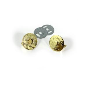 "Voodoo Bag Hardware Magnetic Catch Slim 18mm (3/4"") Gold - 1pk"