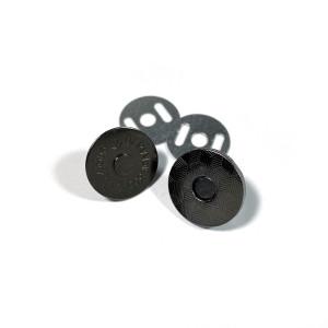 "Voodoo Bag Hardware Magnetic Catch Slim 18mm (3/4"") Gunmetal - 1pk"