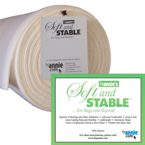 """WHITE ByAnnie's Soft and Stable Foam Stabiliser 58"""" (147cm) Wide"""