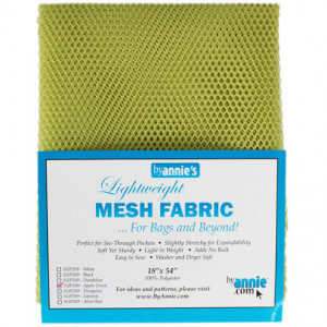 Mesh Fabric Light Weight - Apple Green from by Annie