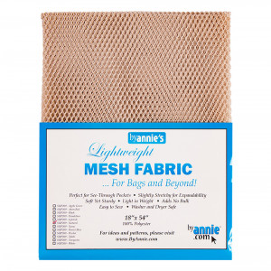 Mesh Fabric Light Weight - Natural from by Annie
