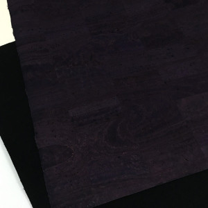 "Portuguese Surface Cork Eggplant Purple - Sizing from 70cm x 50cm (27-1/2"" x 19-1/2"")"