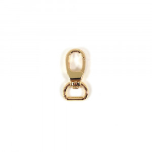 "Voodoo Bag Hardware Swivel Snap Hook 12mm (1/2"") Gold 2pk"