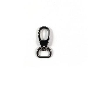 "Voodoo Bag Hardware Swivel Snap Hook 12mm (1/2"") Gunmetal 2pk"