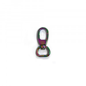 "Voodoo Bag Hardware Swivel Snap Hook 12mm (1/2"") Iridescent Rainbow 2pk"