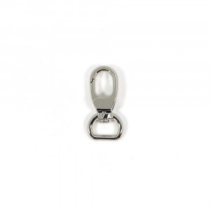 "Voodoo Bag Hardware Swivel Snap Hook 12mm (1/2"") Silver 2pk"