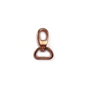 "Voodoo Bag Hardware Swivel Snap Hook 20mm (3/4"") Copper 2pk"