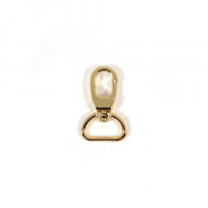"Voodoo Bag Hardware Swivel Snap Hook 20mm (3/4"") Gold 2pk"