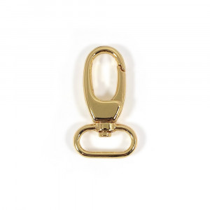 "Voodoo Bag Hardware Swivel Snap Hook 25mm (1"") Gold 2pk"