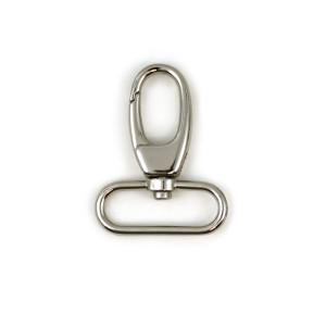 "Voodoo Bag Hardware Swivel Snap Hook 40mm (1-1/2"") Silver 2pk"