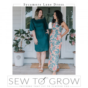 Sycamore Lane Dress Sewing Pattern by Sew To Grow