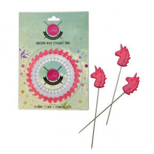 "Tula Pink Unicorn 2"" Pins 30pc Wheel"