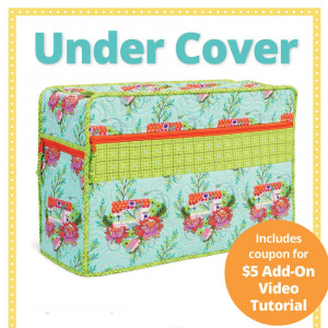 Under Cover Sewing Machine Cover Pattern from byAnnie