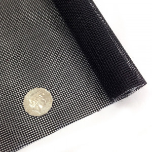 "Vinyl Bag Mesh 18"" x 36"" (46cm x 91.5cm) - Black"