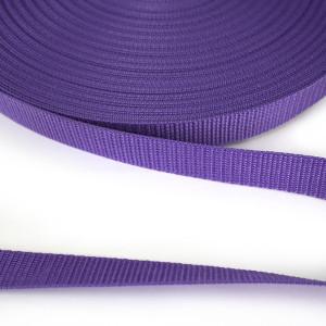 """Polypropylene Webbing - 25mm (1"""") Purple"""