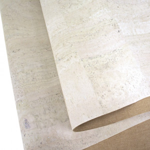 """Portuguese Surface Cork White Cork - Sizing from 70cm x 50cm (27-1/2"""" x 19-1/2"""")"""