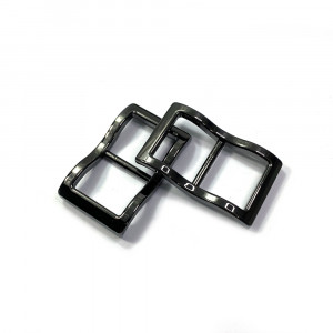 """Emmaline Bags Wide Mouth Strap Sliders (Extra Wide) For thicker straps 20mm (3/4"""") Gunmetal - 2pk"""