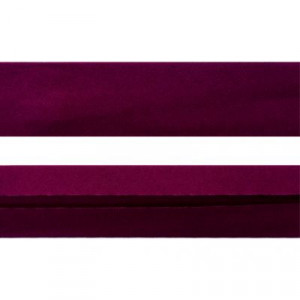 "12mm (1/2"") Single Fold 100% Cotton Bias Binding Wine"