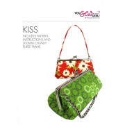 Purse 200mm Kiss Pattern by You Sew Girl