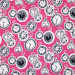 Wonderland Clocks Pink by Blend Fabric