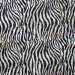 Savanna Zebra Print Black and White by Northcott