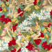 Aloha Girls Vintage by Alexander Henry approx fat quarter scale reference