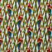 Birds in Paradise Bird Trellis Blue by Henry Glass Fabrics