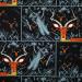Charley Harper Halloween Night Gazelle by Birch Organic Fabrics
