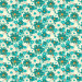 """Spotty Flowers Teal 145cm (57"""" wide) Cotton Lawn Fabric by Devonstone"""