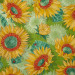 Solana Sunflowers Sprout Green by Moda Fabrics