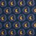 Mystic Land Crescent Moons Blue by Art Gallery Fabrics