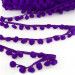 Pom Pom Trim Regular Purple